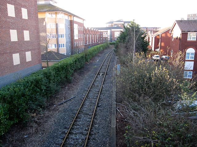 Railway to Southampton Docks