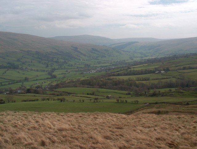 Hillside overlooking upper Dentdale
