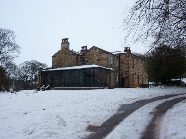 Oak Hill Park, The Mansion, rear view
