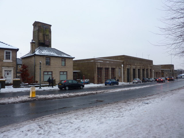 The former Accrington Fire Station