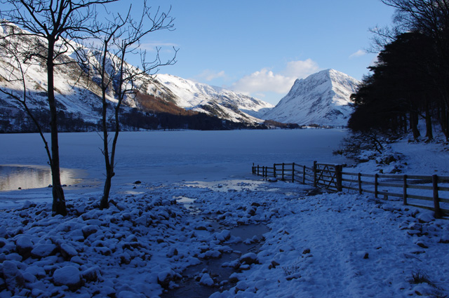 Buttermere and Sour Milk Gill