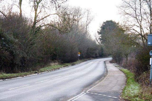 Abingdon Road at Clifton Hampden