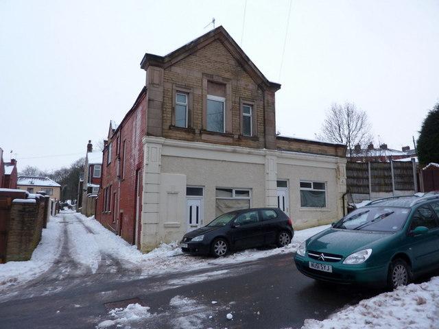 Granville Road, Accrington, Building