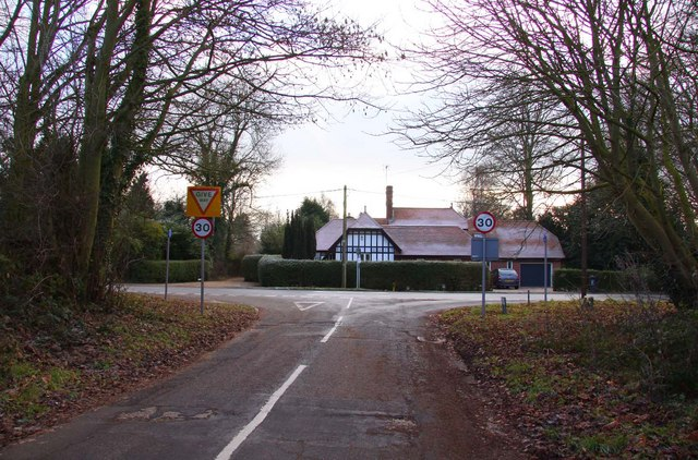 Junction with the A415 at Burcot