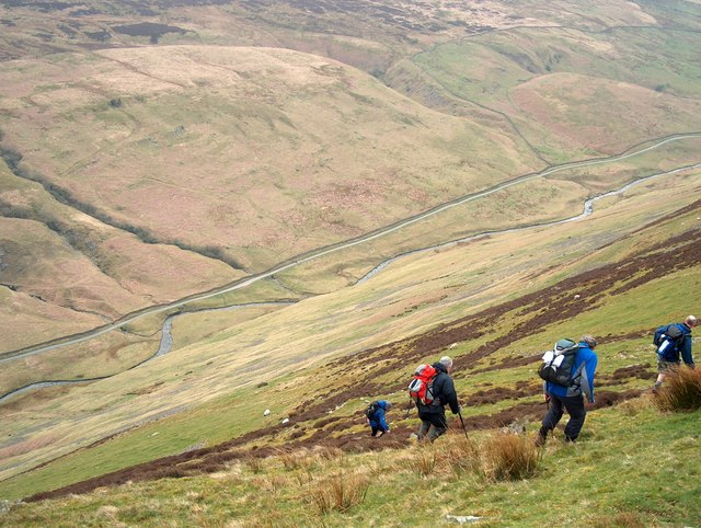 Descending into Barbondale