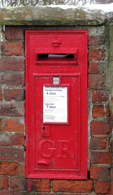 GR Postbox, North Otterington