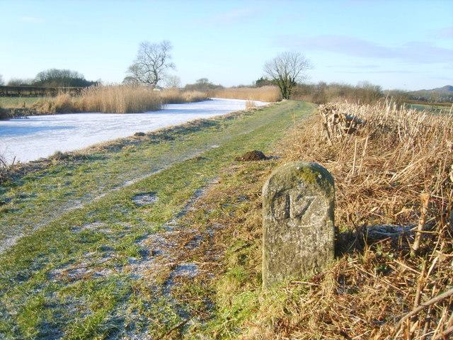 Milestone, Lancaster Canal