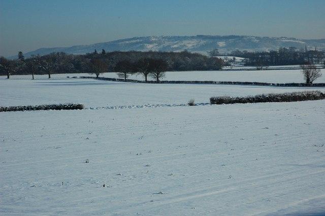 Bredon Hill from Kinnersley
