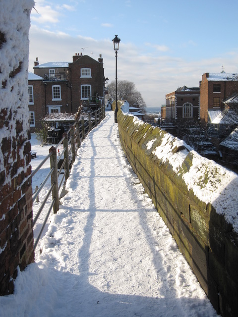 City walls towards the Northgate