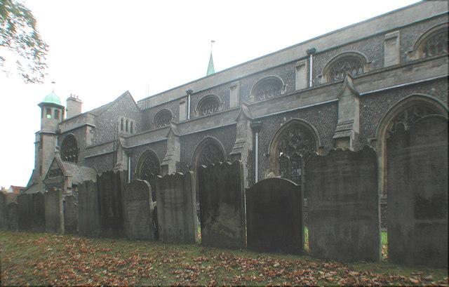 All Saints, Carshalton - Gravestones