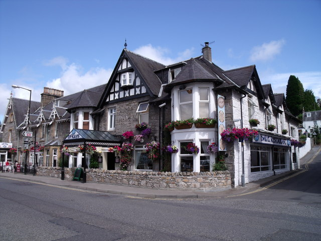 Pitlochry, McKays bar and restaurant