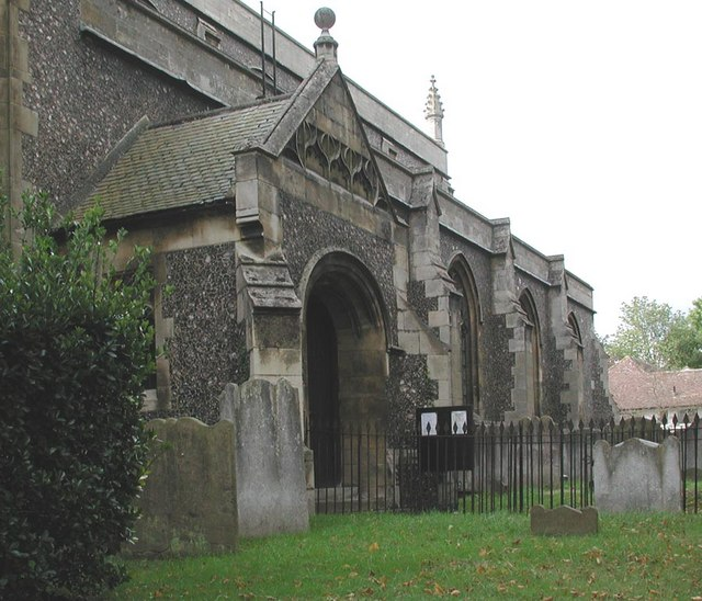 All Saints, Carshalton - Porch