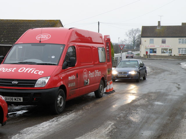A Post Office van and an ex Post Office