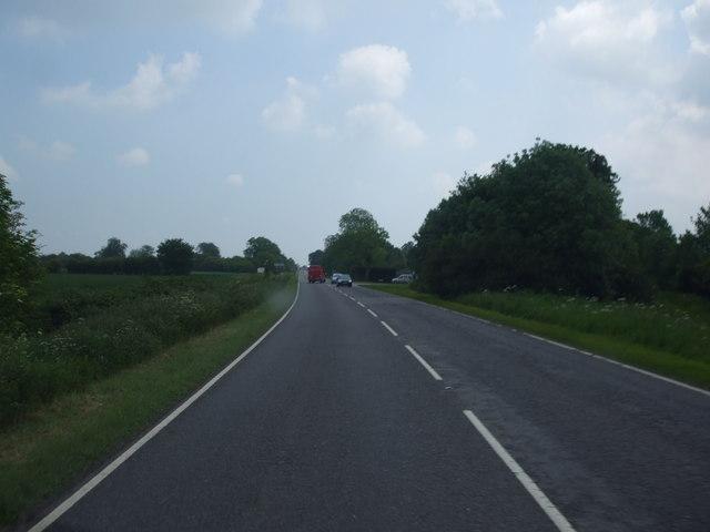 A52 near Threekingham