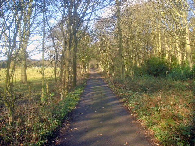 Long distance footpath at Abbey Wood