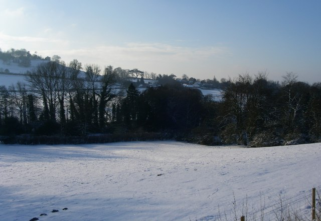 Valley below Hillmill Lane