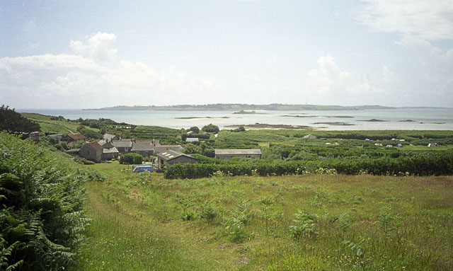 Farm buildings near Middle Town, St Martins, Scilly