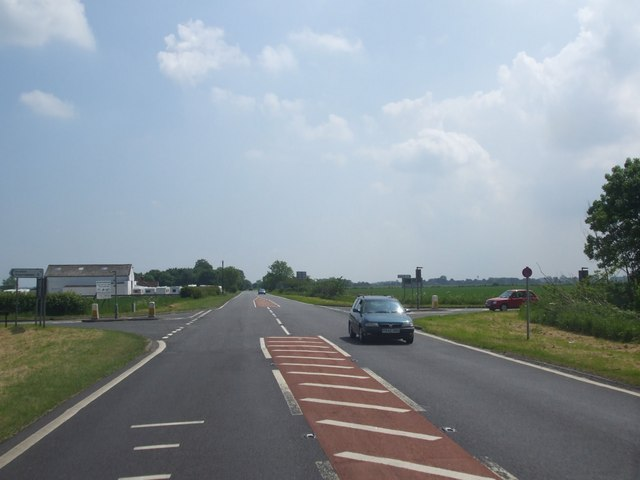 A52 Swaton Lane Crossroads