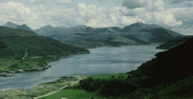 Dramatic Scenery at Loch Sunart