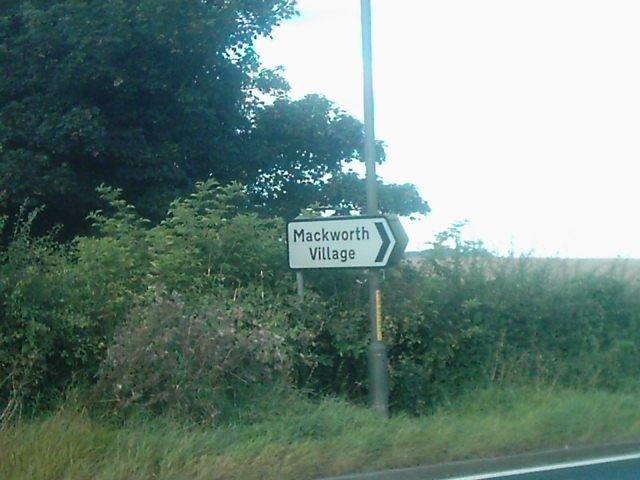 Mackworth Village, Derbyshire