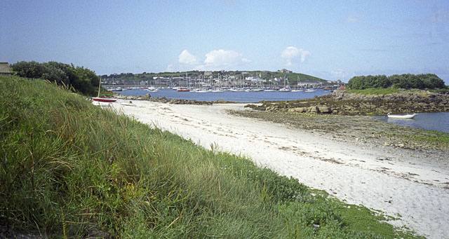 Porthloo and Newford Island, St Mary's, Scilly