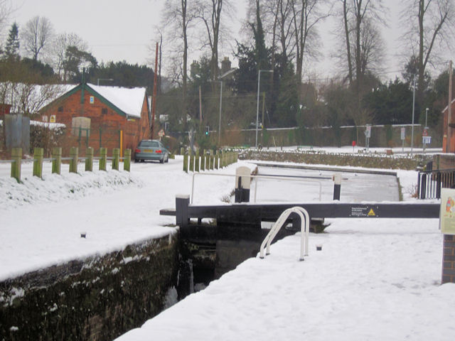 Lock Gate on Canal