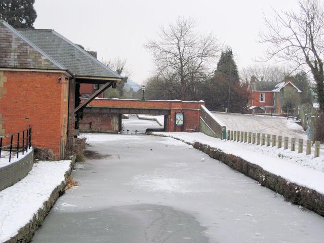 Severn Street Bridge and Powysland museum