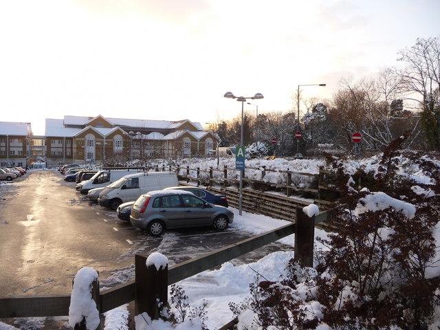 Car Park, Barnet Hospital, Wellhouse Lane, Barnet