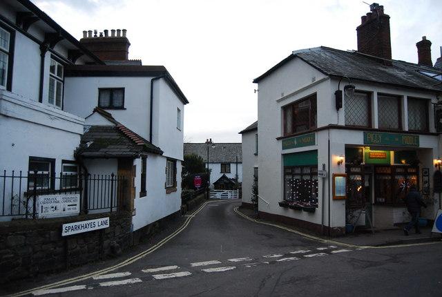 Sparkhayes Lane, Porlock
