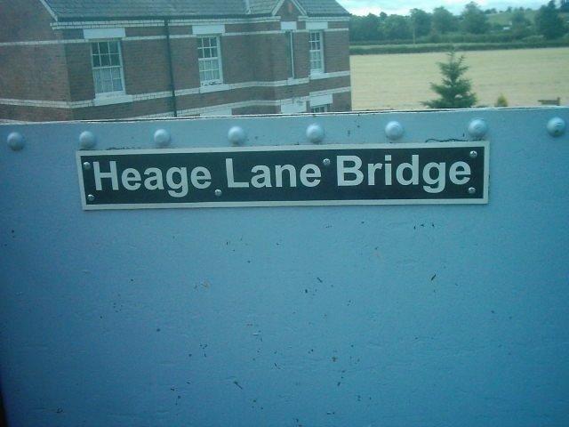 Heage Lane Bridge near Etwall, Derbyshire
