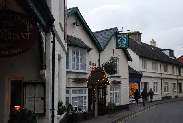 The Royal Oak, High St, Porlock