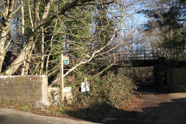 Templer Way at Ventiford Bridge