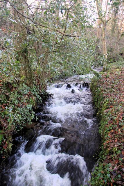 River Lariggan above Castle Horneck