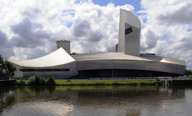 Imperial War Museum North, Trafford Wharf, Manchester