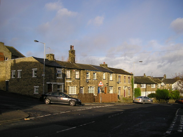 Cottages on Skinner Lane, Bradford
