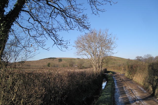 Lane to Brocks Farm (2)