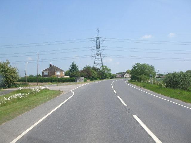Bicker Road, Day's Lane junction
