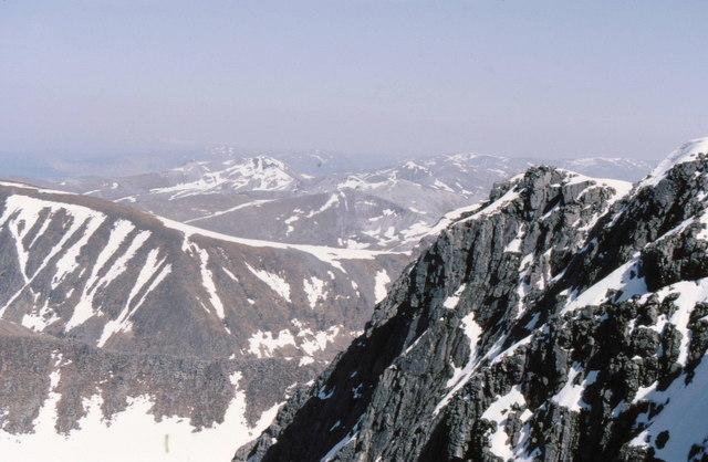 Crags on Ben Nevis