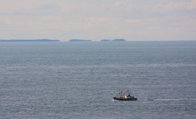 Isles of Scilly - a view from Gwennap Head