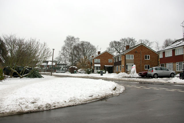 Junction of Church Road & Beech Road, Horsham