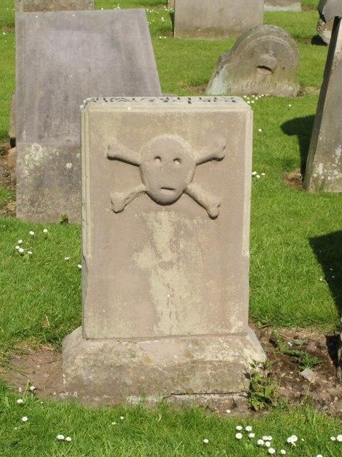 Gravestone of William Harvey, a Covenanter