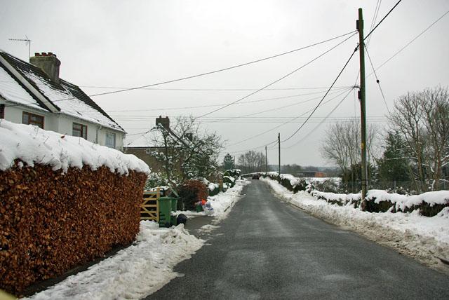 Leaving Colgate, Blackhouse Road