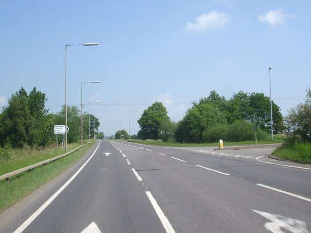 A52, Mill Lane junction