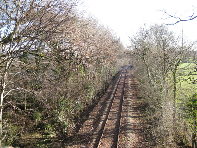 Bend in the disused railway