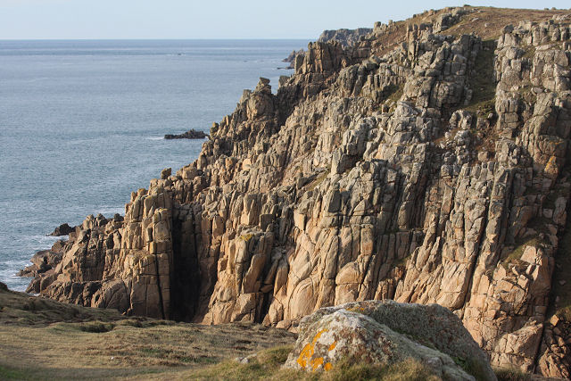 Cliffs at Porth Loe