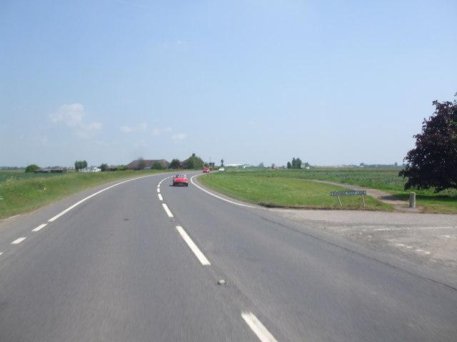 A52, Running Post Lane junction