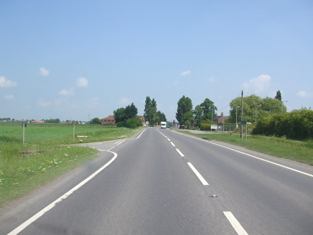 A52, Fendike Lane junction