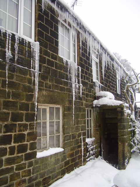 Icicles in Bolsterstone