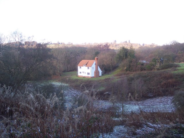 Little Owl House, seen from Mount Pleasant Hill
