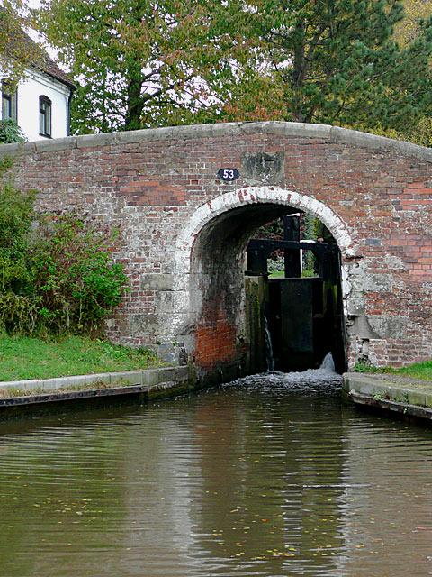 Bridge No 53 at Wood End Lock near Fradley